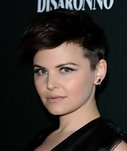 Ginnifer Goodwin gave the pixie cut a fresh spin with shaved sides and textured locks gelled into place.