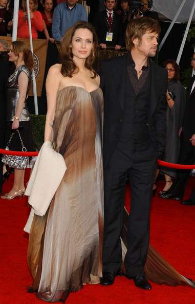 Angelina Jolie at the 2008 SAG Awards