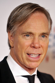 Tommy Hilfiger showed off his signature combover while attending an event in LA.
