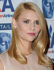 Claire rocked her side swept looks while walking the red carpet at the BAFTA Awards.