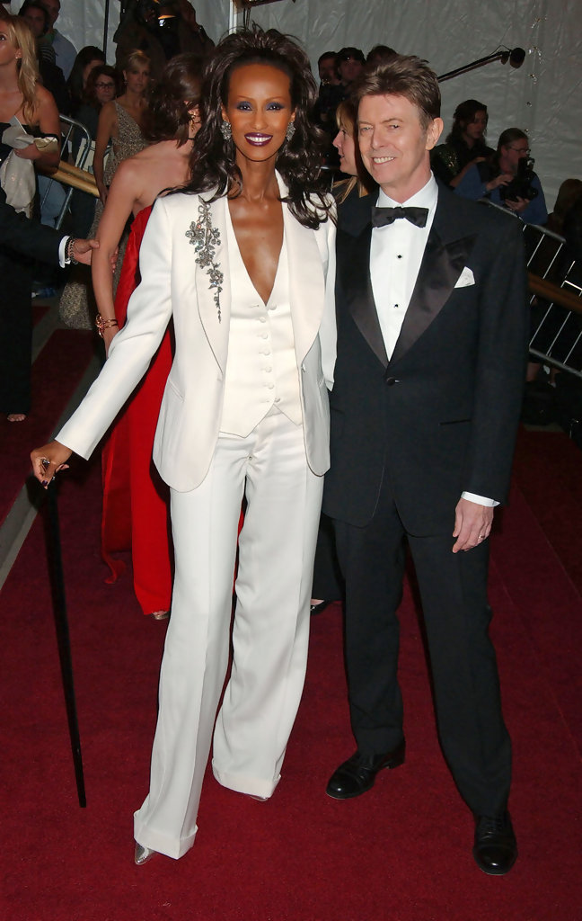 David Bowie at the Costume Institute Gala in 2007
