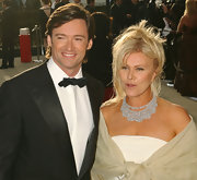 Deborra Furness dressed the part while hitting the red carpet with her movie-star husband.