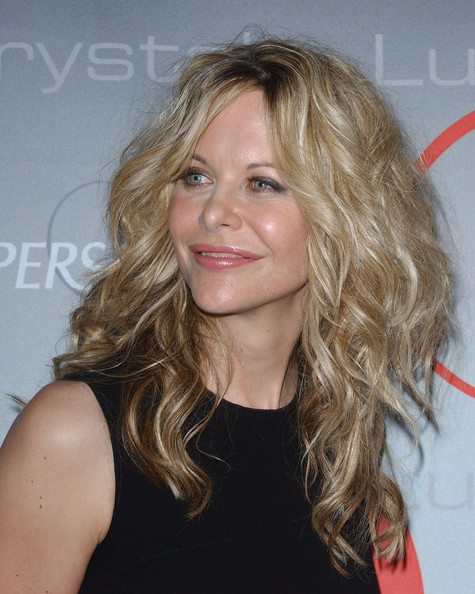 More Pics of Meg Ryan Long Curls (1 of 16) - Meg Ryan Lookbook - StyleBistro