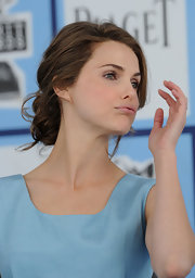 Keri Russell was elegantly coiffed in a chignon at the 2008 Film Independent's Spirit Awards.