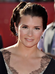 Danica Patrick exuded Hollywood glamour in a braided updo at the ESY Awards.