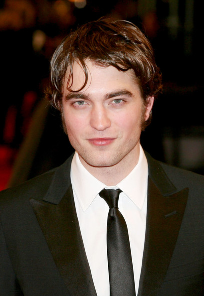 More Pics of Robert Pattinson Classic Solid Tie (1 of 9) - Robert Pattinson Lookbook - StyleBistro