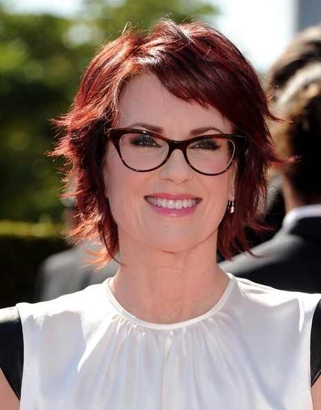 Megan Mullally's Playfully Chic Crop
