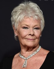 Judi Dench attended the BAFTA Los Angeles Jaguar Britannia Awards wearing this stylish pixie.