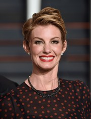 Faith Hill looked cool with her tousled 'do at the Vanity Fair Oscar party.