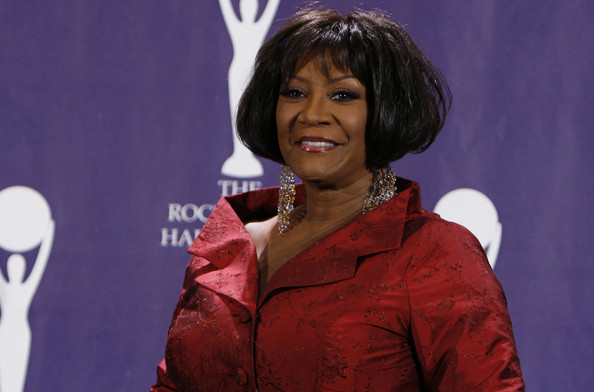 Patti LaBelle wore her hair in a teased bob at the 2008 Rock and Roll Hall of Fame event.