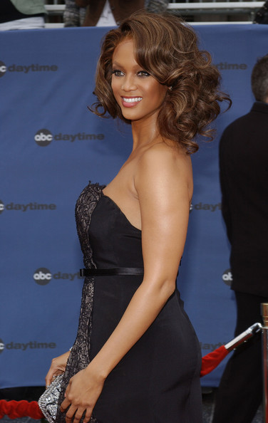 More Pics of Tyra Banks Medium Curls (1 of 3) - Tyra Banks Lookbook - StyleBistro