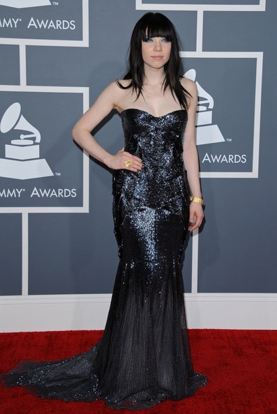More Pics of Carly Rae Jepsen Mermaid Gown (3 of 14) - Carly Rae Jepsen Lookbook - StyleBistro