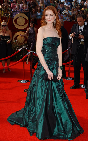 Marcia Cross in Elie Saab, 2005