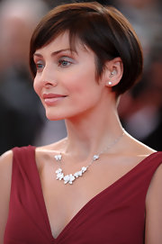 Natalie Imbruglia wore her hair in a casual bob at the 'Kung Fu Panda' premiere.