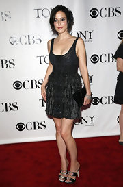 Mary-Louise Parker wowed the crowd in a sexy little black dress at the Tony Awards.