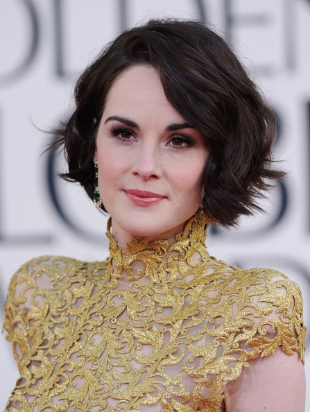 More Pics of Michelle Dockery Evening Dress (1 of 7) - Evening Dress Lookbook - StyleBistro