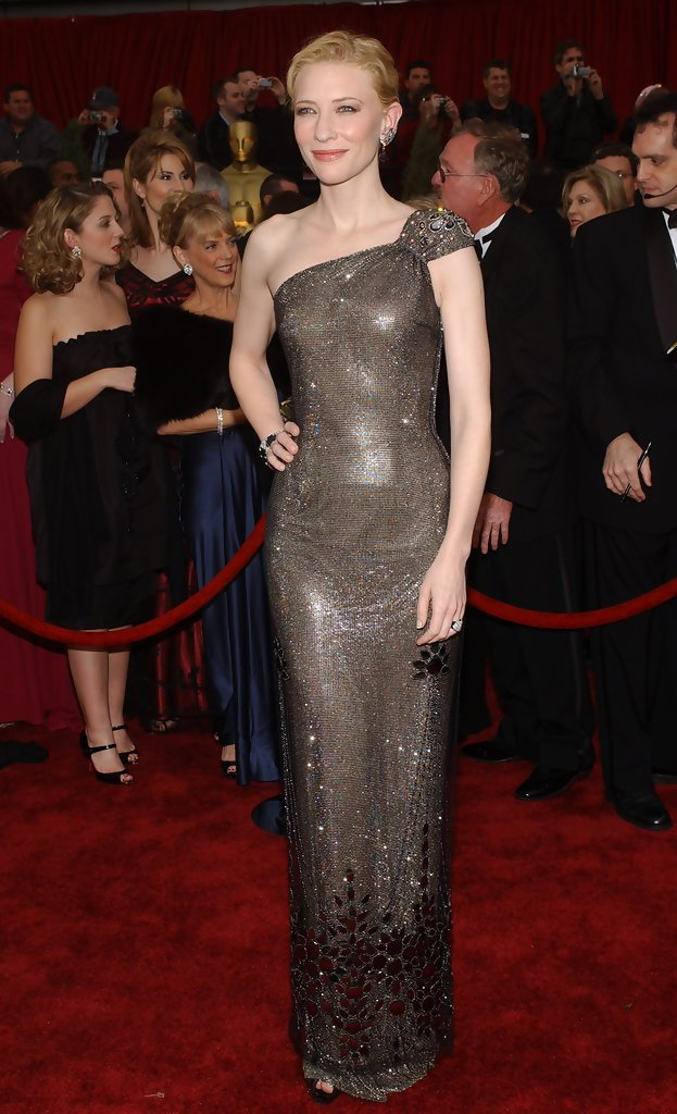 Cate Blanchett 2007 The Best Oscar Gowns Of The Decade