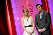 Emma Stone and Seth MacFarlane Photo