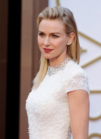 More Pics of Naomi Watts Diamond Collar Necklace (2 of 8) - Naomi Watts Lookbook - StyleBistro