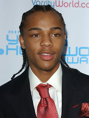 Bow Wow arrived at the Young Hollywood Awards in corn rows.