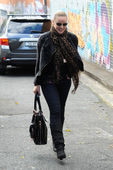 Abbie Cornish Mid-Calf Boots