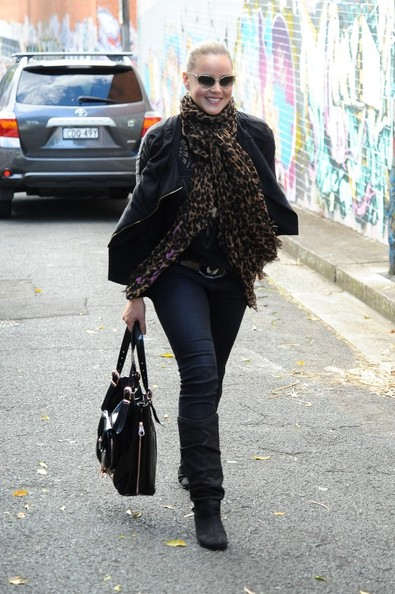 More Pics of Abbie Cornish Mid-Calf Boots (5 of 15) - Abbie Cornish Lookbook - StyleBistro