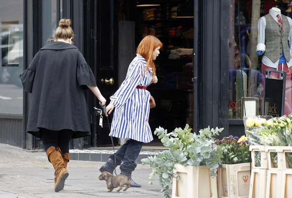 More Pics of Adele Knee High Boots (1 of 4) - Adele Lookbook - StyleBistro