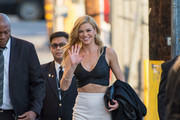 Adrianne Palicki Crop Top