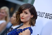 Rose Byrne was gorgeously coiffed with this high-volume wavy 'do at the 'Adult Beginners' premiere.