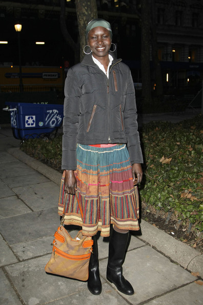 Alek Wek Down Jacket