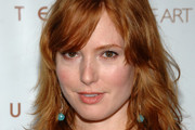 Alicia Witt Long Wavy Cut with Bangs