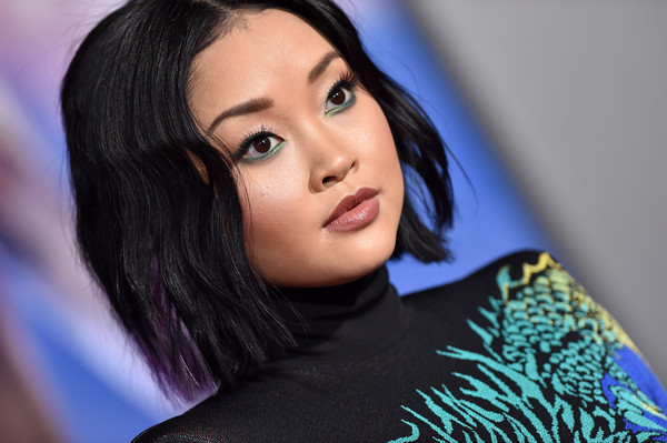 More Pics of Lana Condor Jewel Tone Eyeshadow (1 of 5) - Lana Condor Lookbook - StyleBistro []