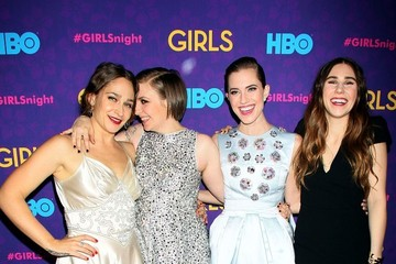 Allison Williams Zosia Mamet 'Girls' Season 3 Premiere Event