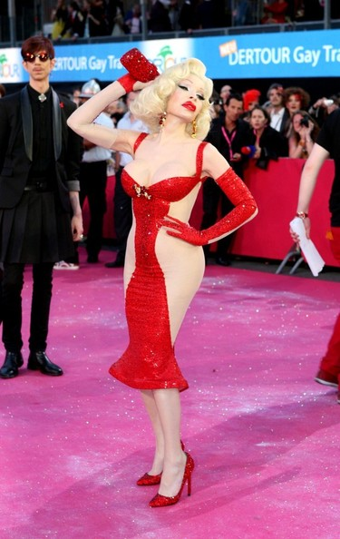 Amanda Lepore Bandage Dress