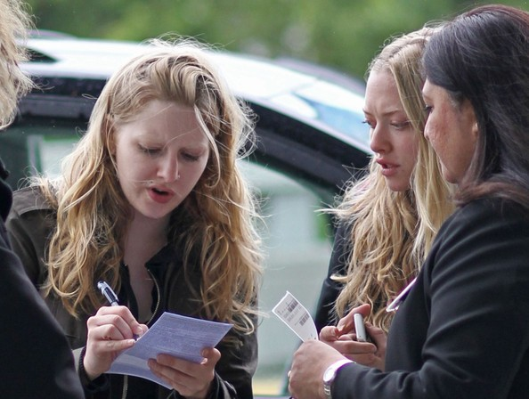 More Pics of Amanda Seyfried Lace Up Boots (17 of 26 ...