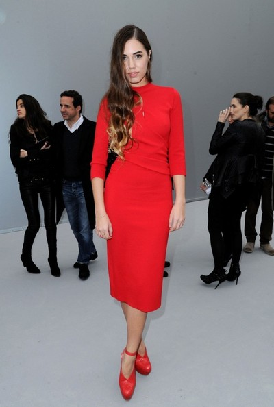 Amber Le Bon Sweater Dress