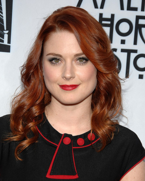 More Pics of Alexandra Breckenridge Long Side Part (1 of 6) - Alexandra Breckenridge Lookbook - StyleBistro