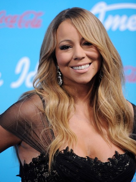 More Pics of Mariah Carey Long Wavy Cut (1 of 28) - Long Wavy Cut Lookbook - StyleBistro