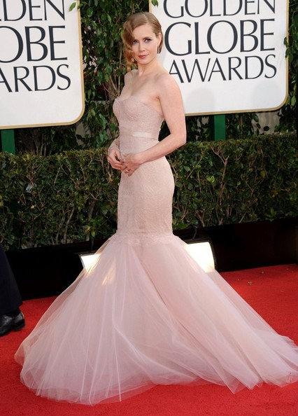 Amy Adams Mermaid Gown
