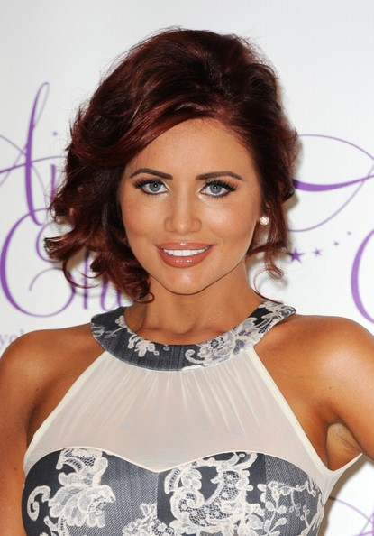 More Pics of Amy Childs Messy Updo (1 of 16) - Amy Childs Lookbook - StyleBistro