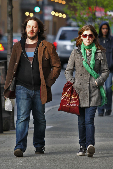 Anna Kendrick Solid Scarf