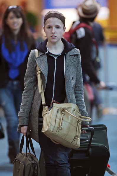 Anna Kendrick Cross Body Tote
