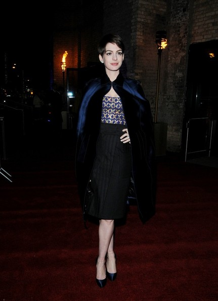 Anne Hathaway Cape