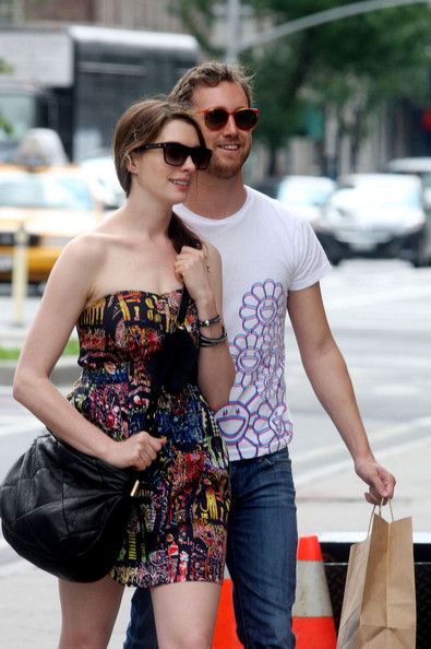 Anne Hathaway Cross Body Tote