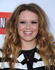 Natasha Lyonne looked totally edgy and cool with big rocker hair.