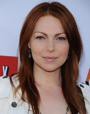 Laura Prepon's fiery red locks looked totally cool with a long and straight style.