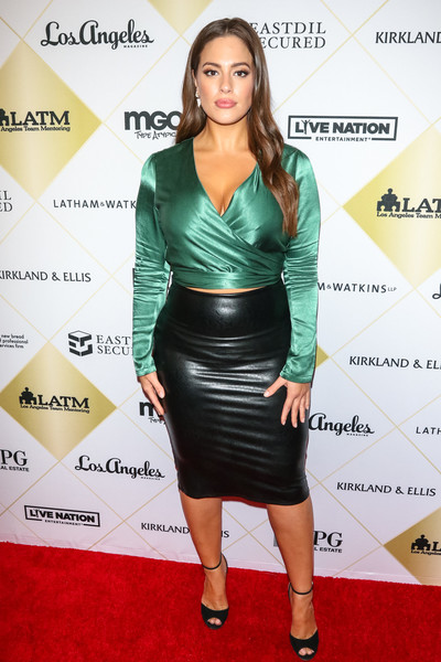 Ashley Graham Pencil Skirt []