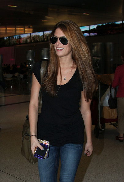 Ashley Greene Aviator Sunglasses