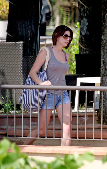 Ashley Greene Oversized Drawstring Bag