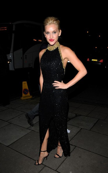 Ashley Roberts Beaded Dress